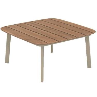Shine Teak coffee table 79x79cm - Emu