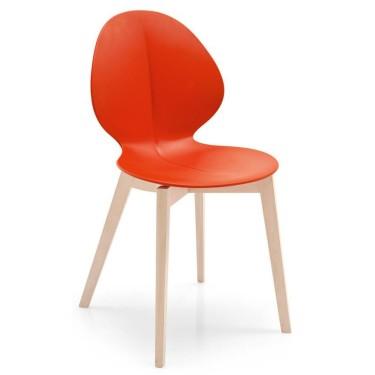 Calligaris - Basil houten stoel