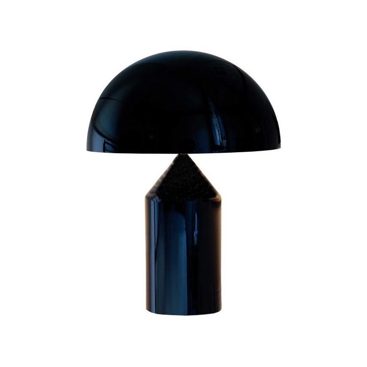 Atollo 50 Metal tafellamp zwart - Oluce