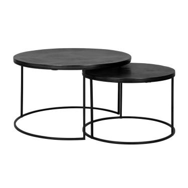Bolder round coffee table...