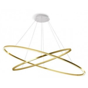 Ellisse double hanglamp -...