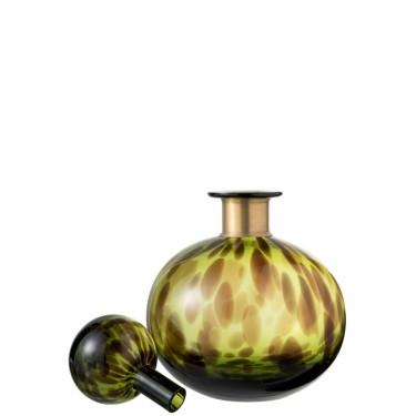 Flasche Leopard S grün - Abitare Home Collection