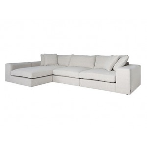Juniper 3-seater lounge sofa white - Richmond