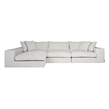 Juniper 3-seater lounge sofa white - Richmond