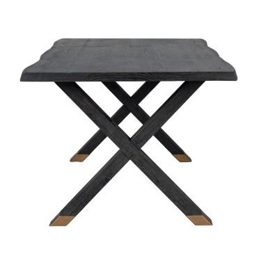 Hunter dining table Cross-Leg 200x100 - Richmond