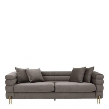 York sofa grey - Eichholtz