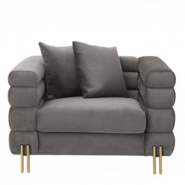 York armchair grey - Eichholtz