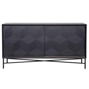 Blax Sideboard 2-türig schwarz - Richmond
