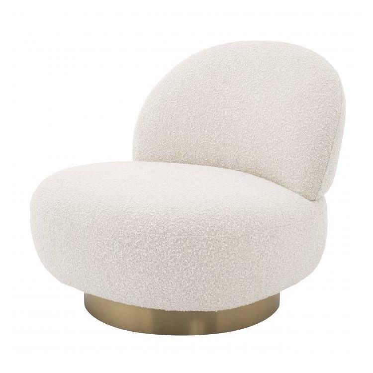 Clement swivel chair white - Eichholtz