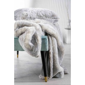 Silverwolf Fur Plaid 140x200 cm - Winter Home