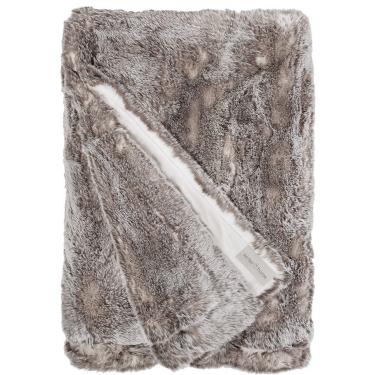 Tundrawolf fur plaid 140x200 cm - Winter Home