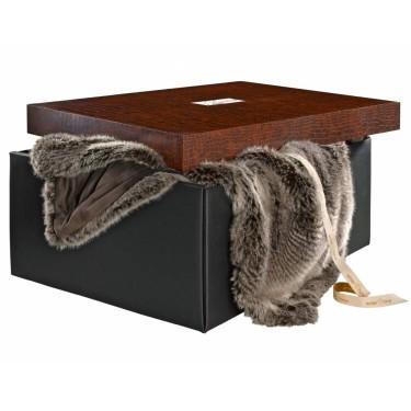 Timberwolf fur plaid 140x200 cm - Winter Home