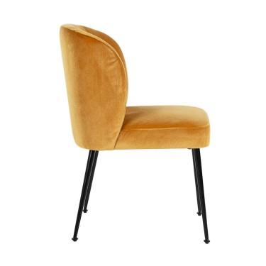 Fallon chair ochre - Richmond