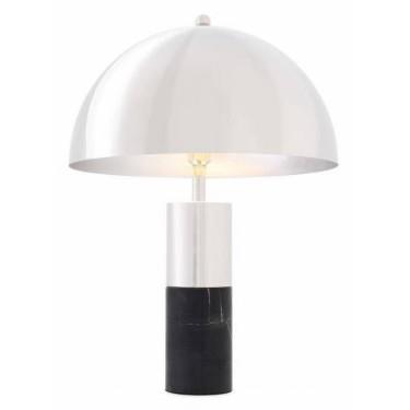 Flair table lamp nickel -...