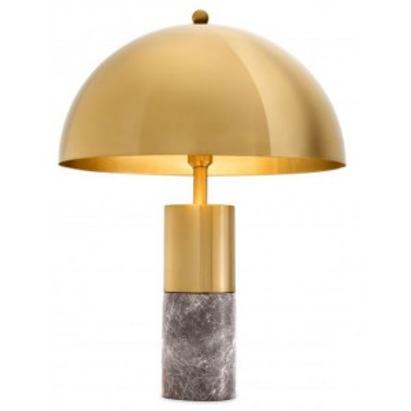 Flair table lamp brass -...