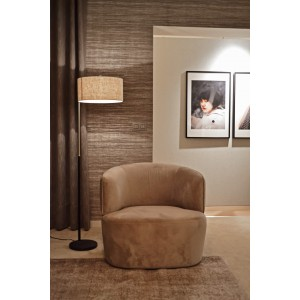 Hugo Lounge chair Cream -...
