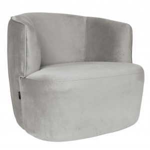 Hugo Lounge chair White -...
