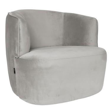 Hugo Lounge Stuhl White -...