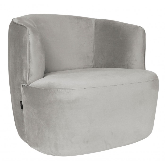 Hugo Lounge chair White - Dôme Deco