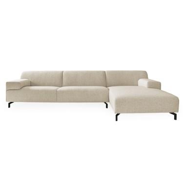 Lugano Yellowstone Cream Lounge Couch - Dôme Deco