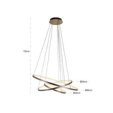 Amira hanglamp goud - Richmond