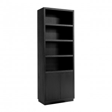 Bücherschrank Oakura 2-Türen schmal