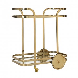 Trolley X.O. gold with glass