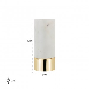 Candle holder Morley marble...