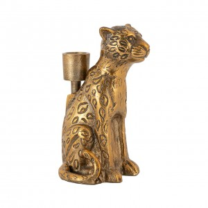Candle holder Lyle leopard