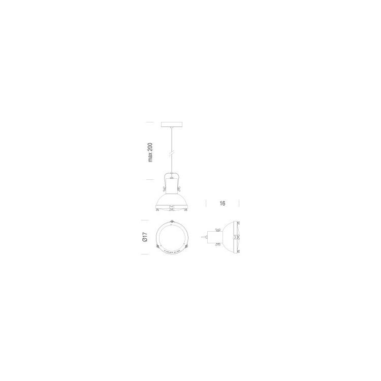 2Projecteur 165 hanglamp - Nemo Cassina