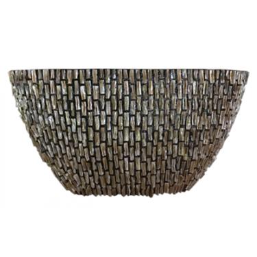 Grobe Schale Schale Schüssel oval 46H - Pot & Vaas