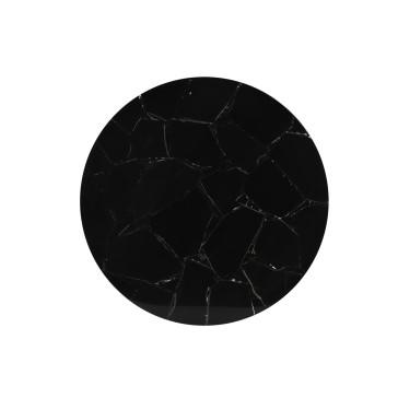 Layo Schaal op voet zwart agaat - Light & Living