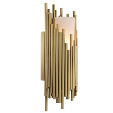 Bartoli wandlamp goud - Eichholtz