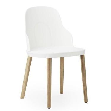 Allez chair plastic oak - Normann Copenhagen