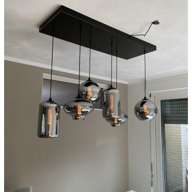 Pendant lamp 6 bulbs - BY EVE