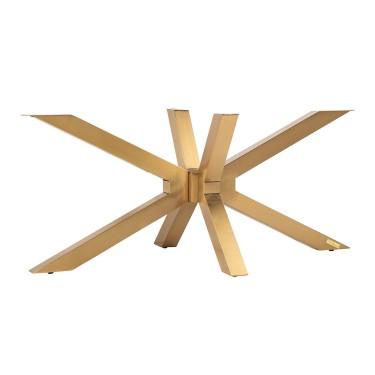 Coffee table X-Leg Brushed...