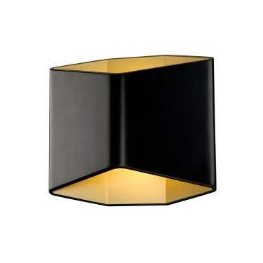 CARISO WL-2 Schwarz/gold 1xLED 2700K - SLV
