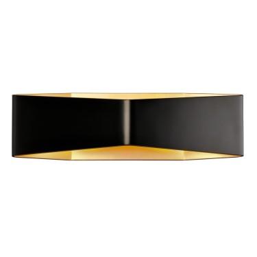 CARISO WL-4 schwarz/gold 2xLED 3000K - SLV