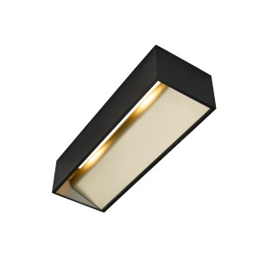 LOGS IN L black/brass 1xLED 3000K - SLV