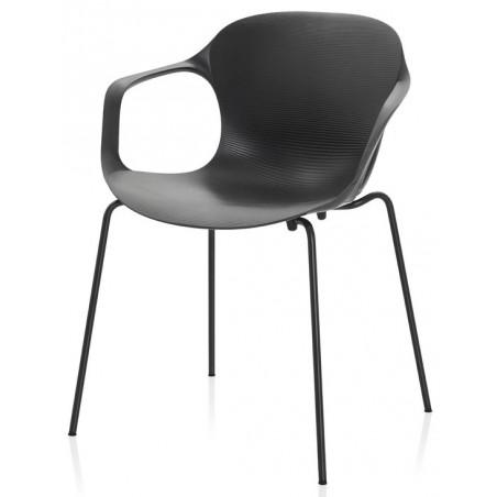 Nap chair stoel met armleuningen - Fritz Hansen