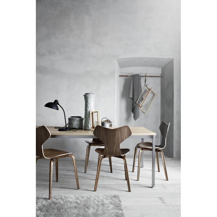 2Grand Prix hout stoel zwart  - Fritz Hansen