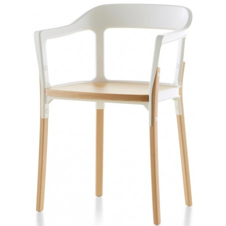 Steelwood Chair stoel hout - Magis