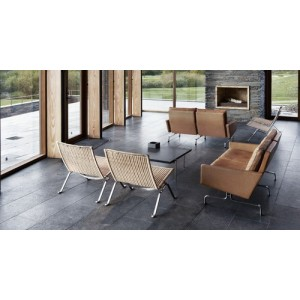 PK22 lounge chair rotan - Fritz Hansen