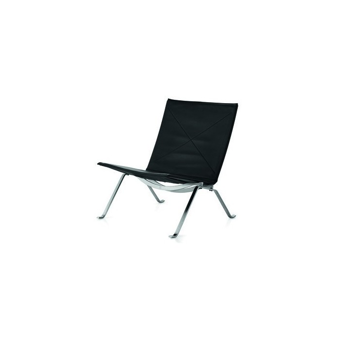 pk22 lounge chair in classic leer fritz hansen. Black Bedroom Furniture Sets. Home Design Ideas