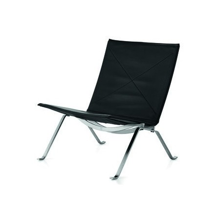 PK22 lounge chair leer - Fritz Hansen