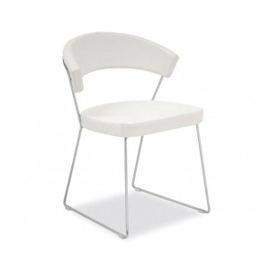 Calligaris - New York eetkamerstoel chroom