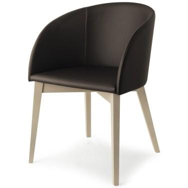 Rosie Wood stoel - Connubia
